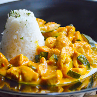 Sweet & Spicy Coconut Chicken Curry Recipe