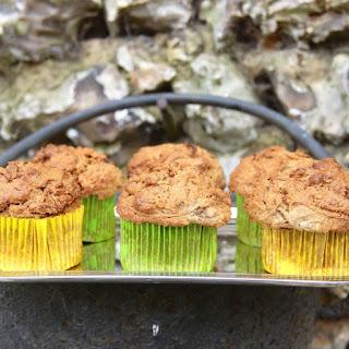 Cinnamon Buckwheat Celeriac Muffins