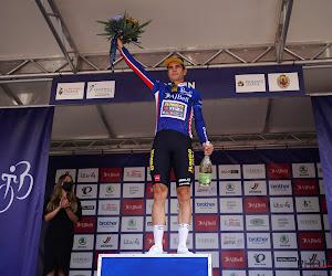 """Wout van Aert meent voldoende fris uit de Tour of Britain te komen: """"Veel beter gegaan dan ik heb gedacht"""""""