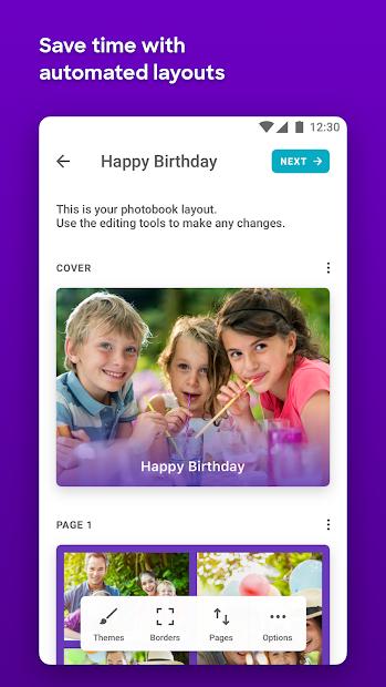 Popsa - Photobooks in 5 minutes Android App Screenshot