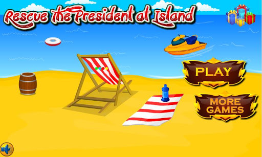 Rescue The President at Island