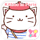 Cat Wallpaper-Kitties in Paris icon