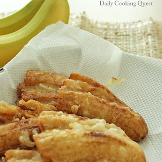 Pisang Goreng - Indonesian Fried Banana Recipe
