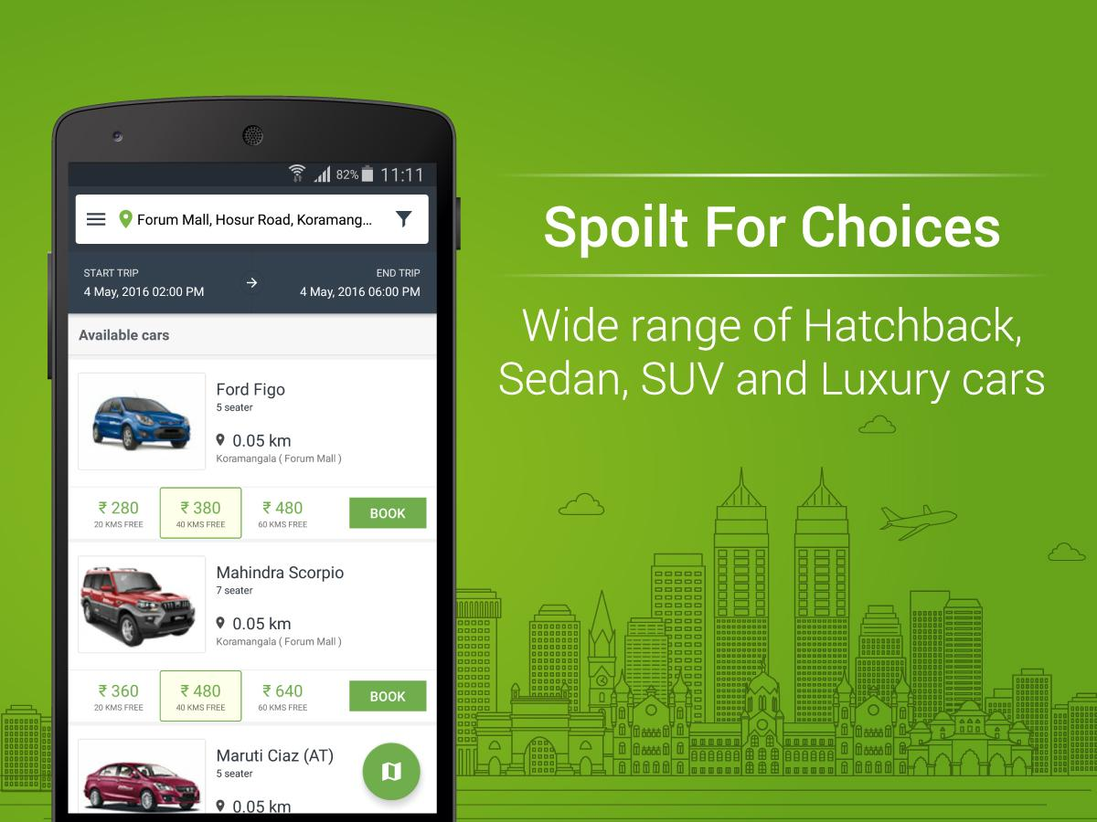 Zoomcar Self Drive Car Rental- screenshot
