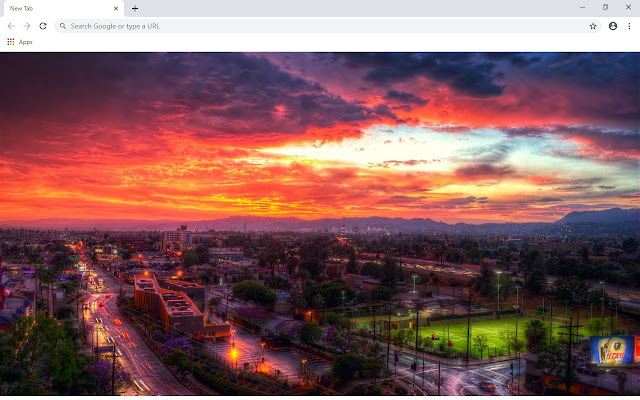 Los Angeles New Tab & Wallpapers Collection