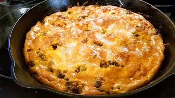 Cheryl's Low Carb Green Chile Burger Casserole