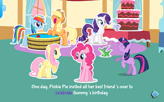 Screenshot of My Little Pony: Party of One