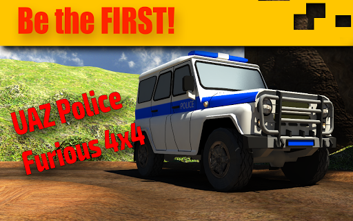 4x4 UAZ Police Chase