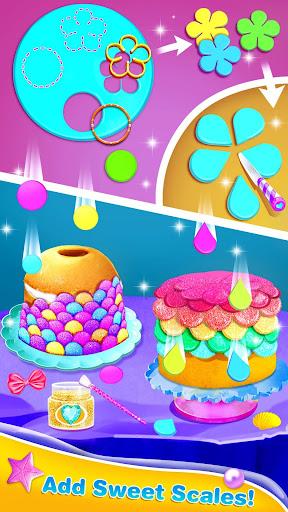 Mermaid Cake Decorating u2013 Girl Games for Free 1.3 screenshots 2