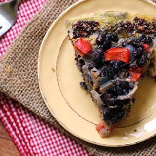Southwestern-Style Quiche with Quinoa Crust Recipe