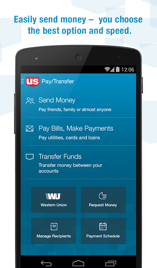 U.S. Bank- screenshot