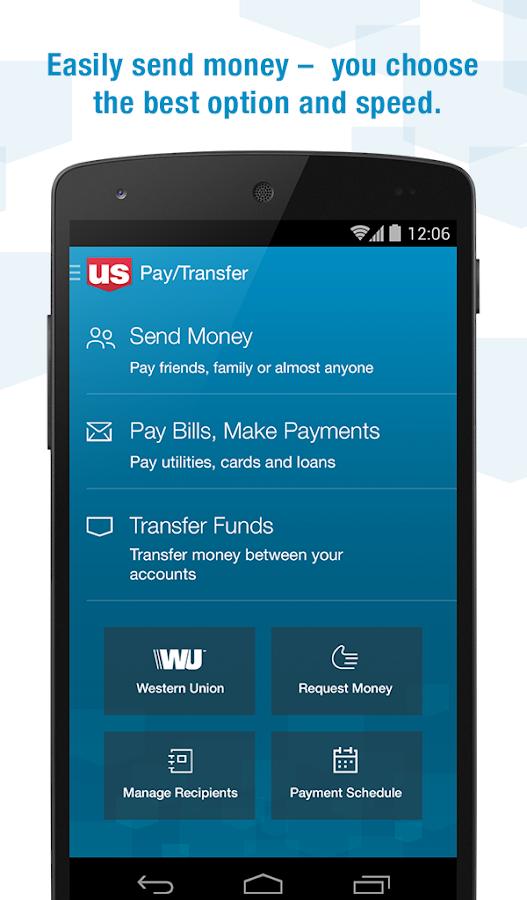 U.S. Bank- screenshot