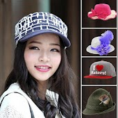 woman cap photo Editor