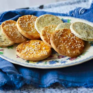 Sun-dried Tomato And Poppy Seed Savoury Biscuits.