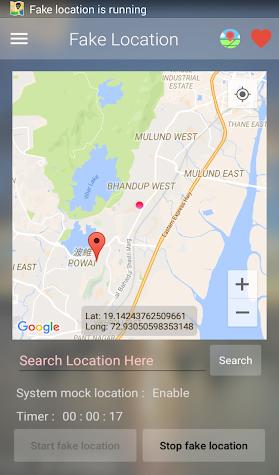 Fake Location PRO (Mock GPS) Screenshot