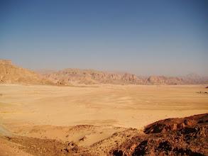 Photo: #002-Le désert sur la route de Sainte Catherine