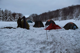 Photo: Takže ranná bilancia bola 11 účastníkov (neskoro večer ešte došli traja Sučanci a urobili si záhrab)