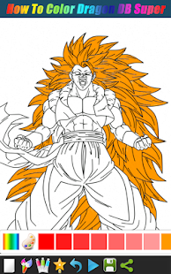 How To Color Dragon DB Super - náhled