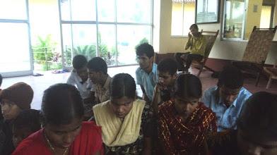 Photo: Students of Premashree picking up 2 songs for Yeh Hai Duniya Meri Jaan for World Disability Day 2014.