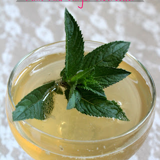 Mint and Ginger Refresher Recipe