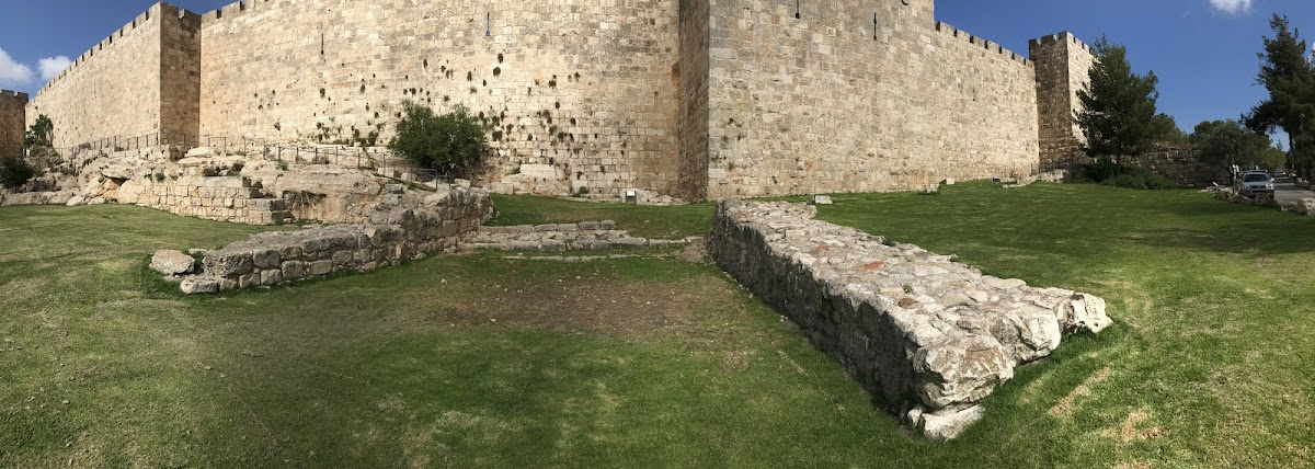 Location of the Judgment Seat of Pilate