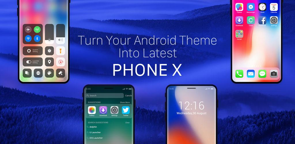 télécharger Launcher for iOS: New iPhone X ios 11 Style ...