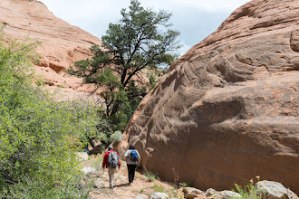 Photo: Rim Canyon; PEEC Slot canyons hike with Doug Scott