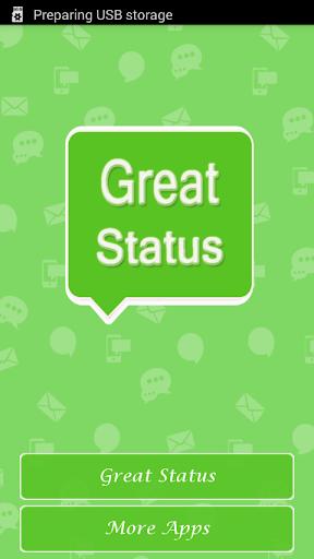 玩免費娛樂APP 下載Great Status app不用錢 硬是要APP