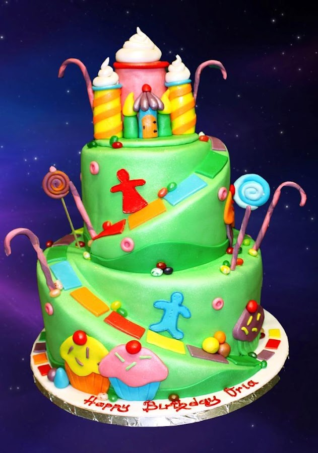 Images Of Birthday Cake With Name Khushi : Happy Birthday Cake Designs - Android Apps on Google Play