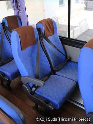 九州産交バス「きりしま号」 1279 シート