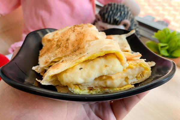 BUBUKING 鐵牛早餐車 酥皮蛋餅、手工蘿蔔糕、港式西多士、肉蛋土司!
