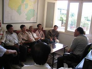 Photo: Trao đổi với Ông Hùng, Giám Đốc Organik Hung Thien Farm