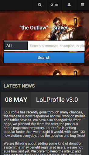 LoLProfile League of Legends