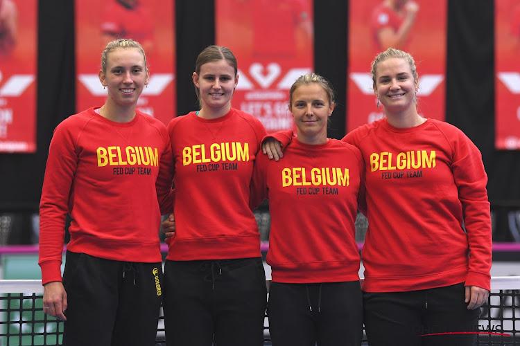 België leeft met vertrouwen toe naar Fed Cup-ontmoeting, één speelster moet wel bijkomende testen ondergaan