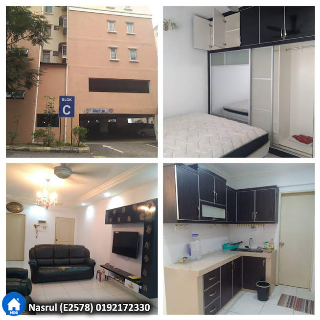[FREE TV & AIRCOND] Apartment Lakeview, Taman Jasa Perwira, Selayang