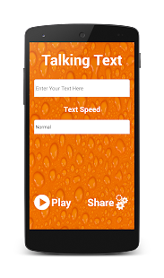 Talking Text - náhled