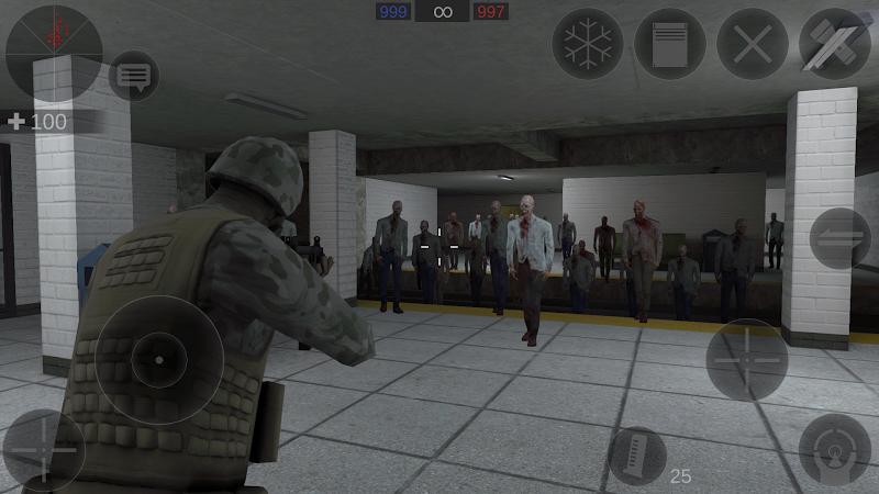 Zombie Combat Simulator Screenshot 3
