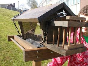 Photo: Ben's bird feeder (GCSE RM project 2009)