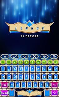 League Keyboard - náhled