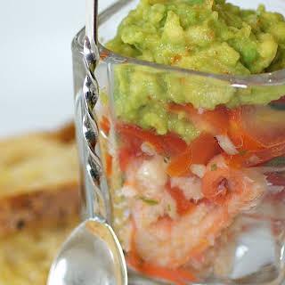 Crab, Tomato and Avocado Amuse-Bouche.