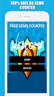 Free Gems Counter For Brawl Star 2020 - náhled