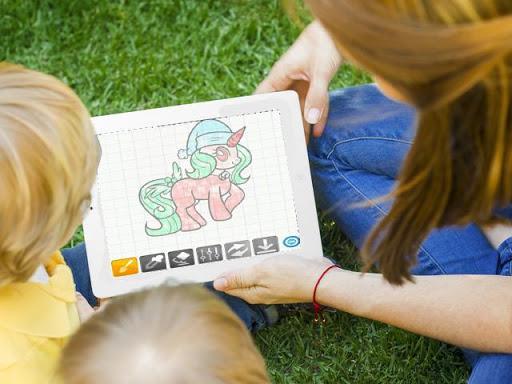 玩免費遊戲APP|下載How To Draw a Unicorn app不用錢|硬是要APP