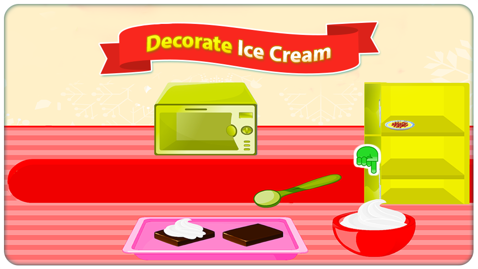 Ice Cream Cake Cooking Games- screenshot