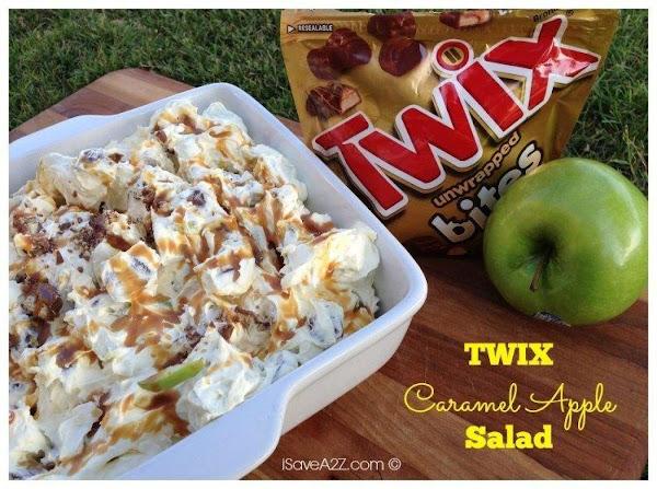 Twix Apple Salad Recipe