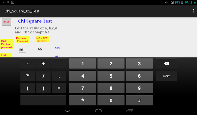 All about chi square x2 test 2x2 table for android videos for Chi square table df 99