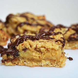 Nutella Caramel Oat Slice Recipe