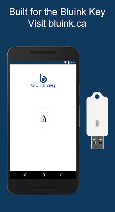 Bluink Key Password Manager- screenshot