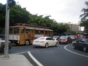 Photo: trolley car