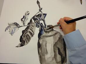 Photo: Beginners cursus tekenen en schilderen