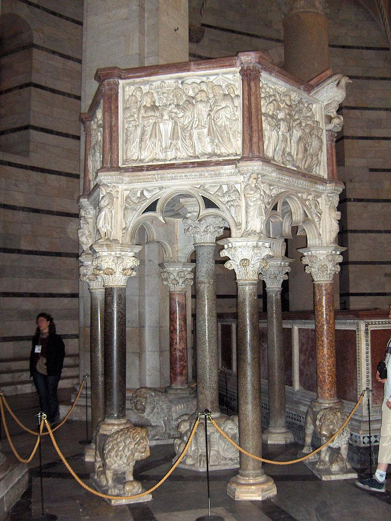 https://upload.wikimedia.org/wikipedia/commons/thumb/8/83/Pisa.Baptistery.pulpit01.jpg/800px-Pisa.Baptistery.pulpit01.jpg